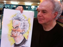 hans-karikatuur