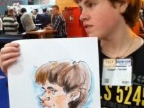 karikatuur-jongeman